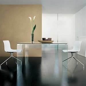 Weißer Esstisch Mit Stühlen : esstisch aus glas schick und elegant ~ Bigdaddyawards.com Haus und Dekorationen