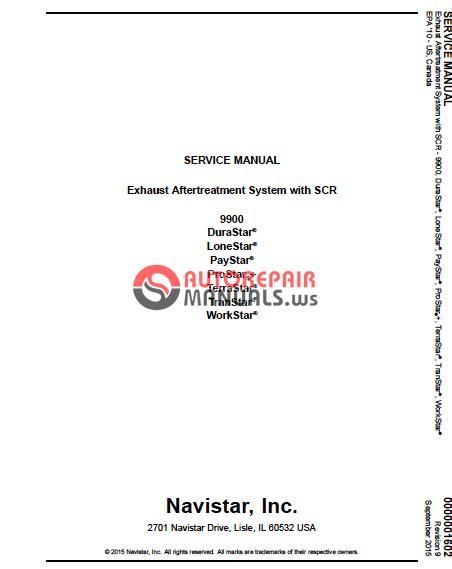 navistar service  parts manual auto repair manual forum heavy equipment forums