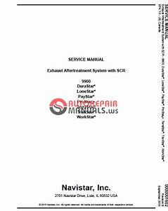 Navistar Service And Parts Manual