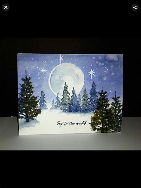 pin  ruth bazzoli  cards christmas  winter