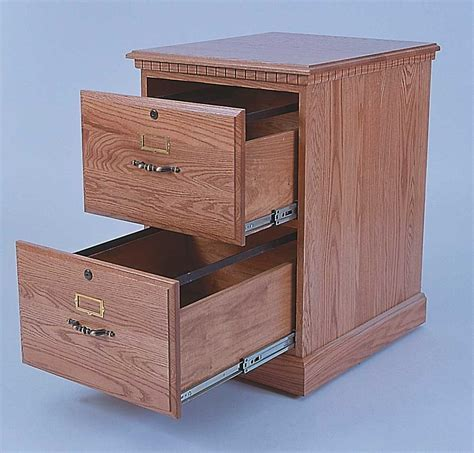 File Cabinets: amusing two drawer wooden file cabinet 2
