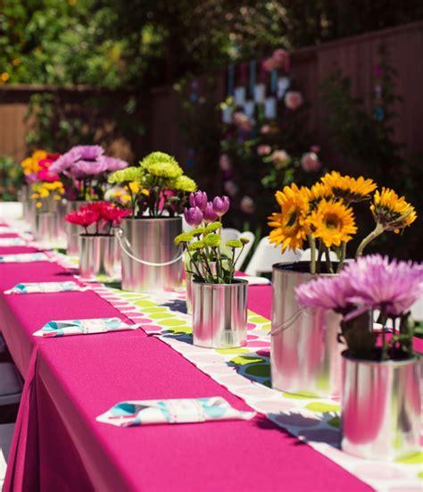 Herbst Deko Gartenparty by Gartenparty Deko Tischdeko Ideen Blumen Deko