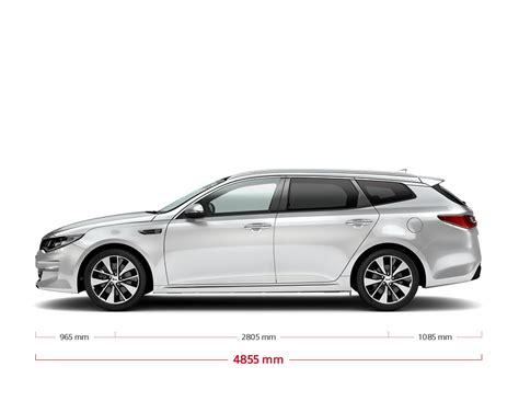 Kia Optima Sportswagon Specifications & Features