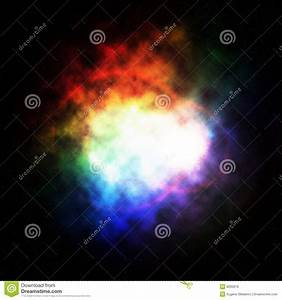 Colored Nebula Royalty Free Stock Image - Image: 8260676