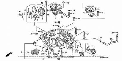 Honda Engine Gxv530 Oil Engines Pan Parts