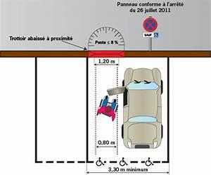 Place De Parking Dimension : accessibilit am nager une place de parking handicap seton fr ~ Medecine-chirurgie-esthetiques.com Avis de Voitures