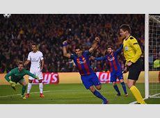 Luis Suarez Barcelona PSG Champions League Goalcom
