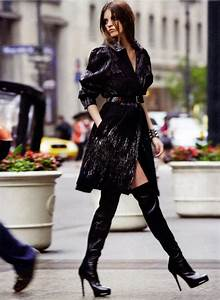 ideas to complete your with thigh high boots