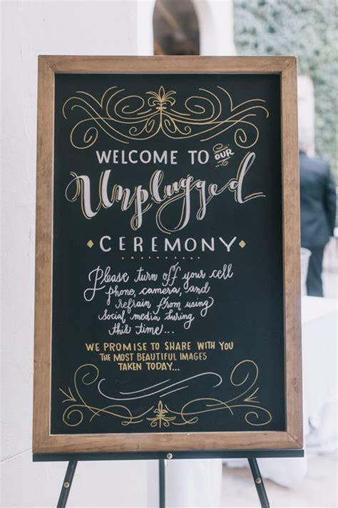 ways  announce  unplugged wedding  wedding