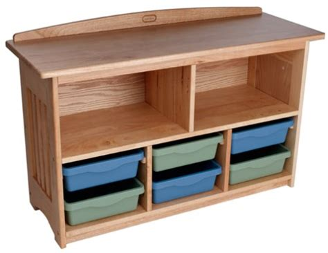 little tikes mission design wood storage shelf