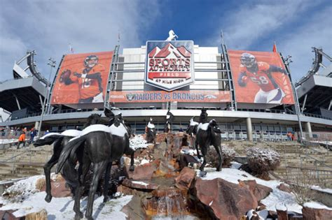 Broncos stadium at mile high. It's time to correct the name of the Broncos stadium once ...