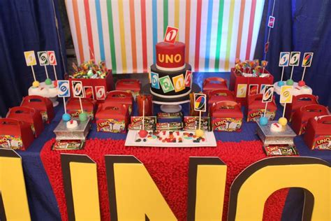 uno birthday party ideas photo    catch  party
