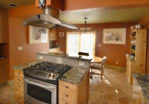 stove in island kitchens how to get more cooking countertop and storage space