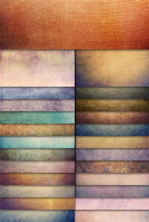 Free download: 25 Colorful Grunge Textures Photoshop