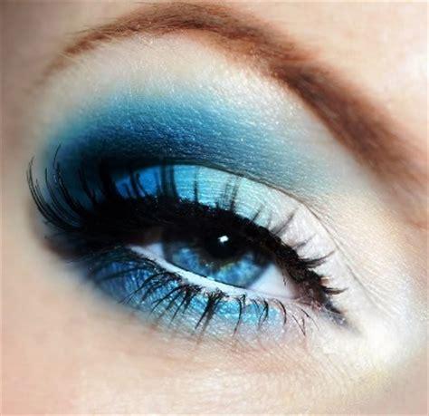 intense blue arabic eye makeup amazingmakeupscom