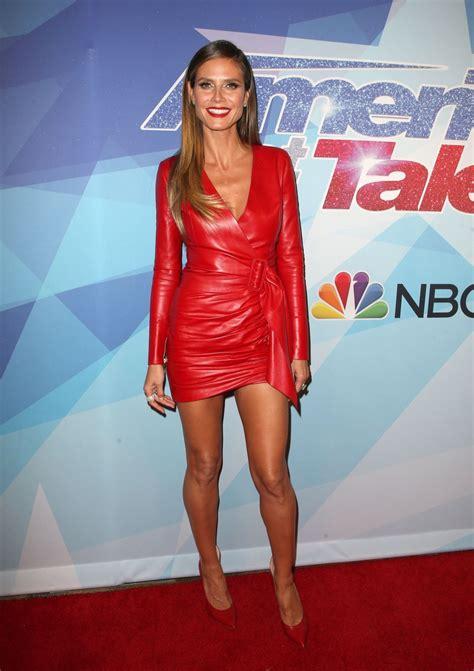 Heidi Klum America Got Talent Season Final Week Red