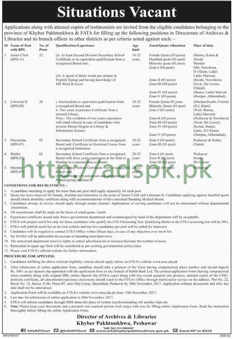 directorate of archives libraries kpk peshawar 2017
