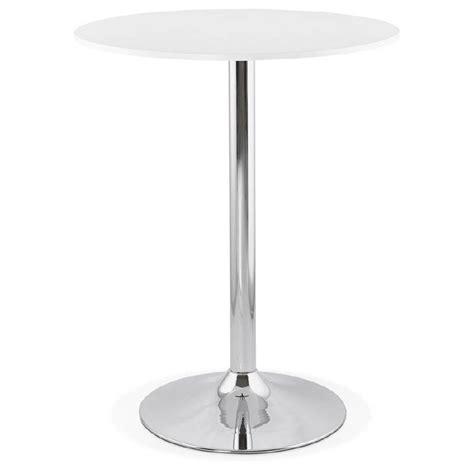 tisch 90 cm hoch tisch hoch stehtisch design holzf 252 223 e metall chrom o