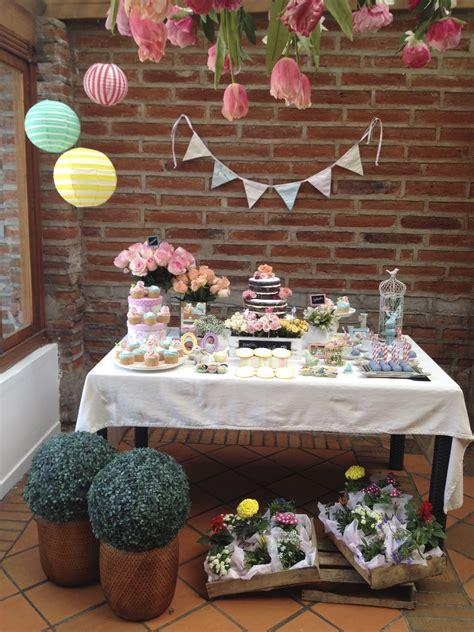Fiesta Primer Cumpleaños  Bienvenidos Al Jardín De Júlia