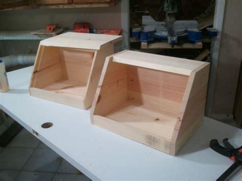 bread box woodworking   pinterest wooden bread