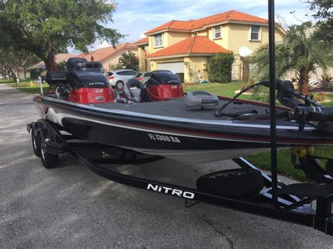 Nitro Bass Boat Z8 by 2010 Nitro Z8 Boats For Sale In Florida