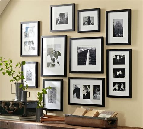 pottery barn gallery in a box 6 ways to set up a gallery wall