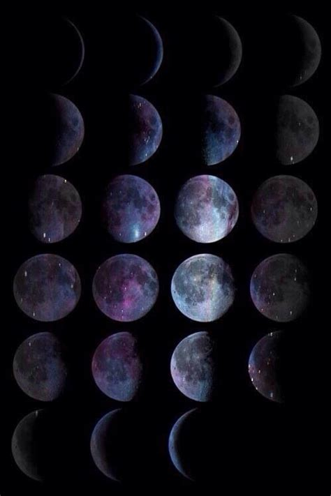 Moon Phases Background Moon Phase Wallpapers