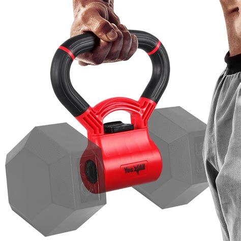 into grip dumbbells convert kettlebells kettle weight yes4all workouts lbs capacity version opens