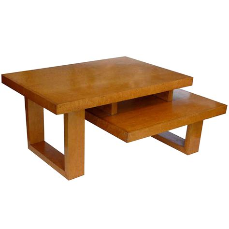 maple architectural two tier coffee table tftm melrose