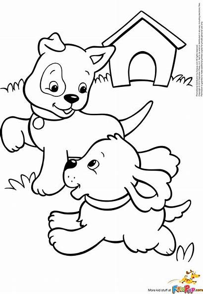 Coloring Puppy Pages Puppies Results