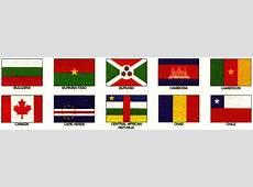 Bulgaria through Chile; Flags of all Countries; Bulgaria