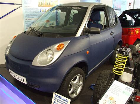 Think Cars : Discontinued 2011 Think City Electric Cars For Sale