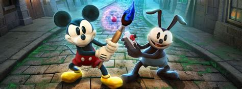 Disney Epic Mickey 2 The Power Of Two Game Review The