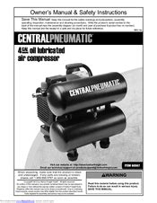 Central pneumatic 60567 Manuals | ManualsLib