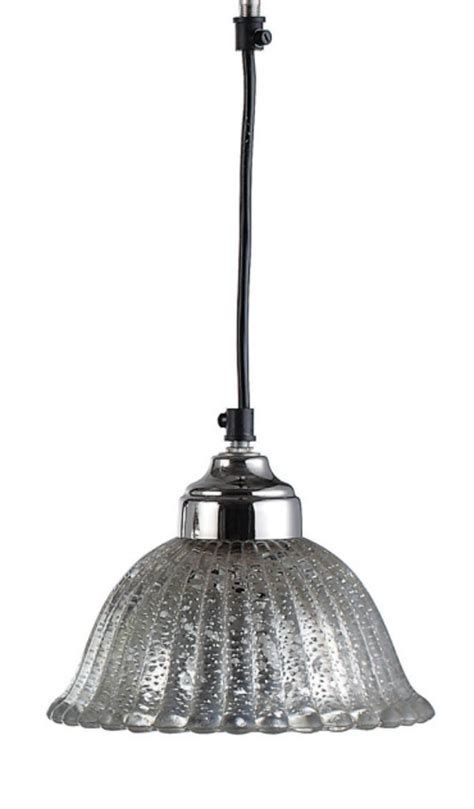 mercury glass pendant light l ceiling mounted fixture