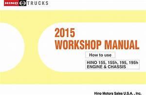 2015 Hino Cab