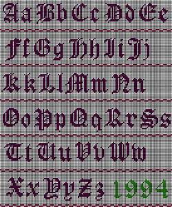 562 best images about alphabet charts on pinterest With needlepoint alphabet letters