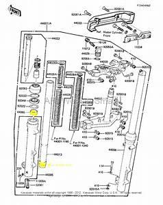 38mm Front Fork Bushings Found From Kawasaki