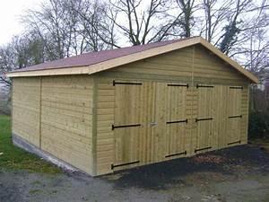 Garage Bois En Kit : garage deux voitures quebec prix livr et mont ~ Premium-room.com Idées de Décoration