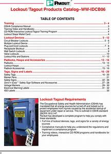 Panduit Lockout  Tagout And Safety Products 428741 Catalog
