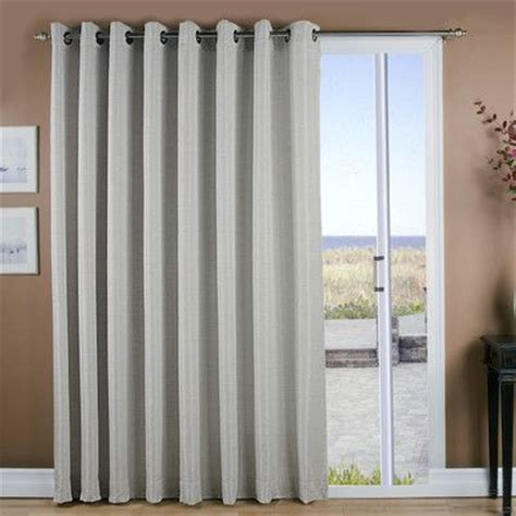 Grommet Curtains For Sliding Glass Doors by 1000 Ideas About Sliding Door Curtains On
