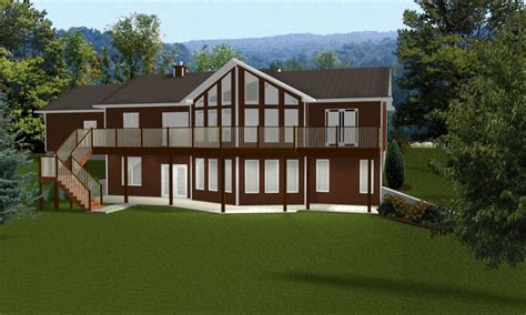 one house plans with basement ranch style house plans with walkout basement open ranch