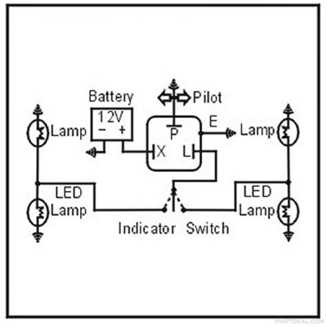 Two Prong Flasher Wire Diagram by 3 Pin Flasher Wiring Diagrams Wiring Diagram
