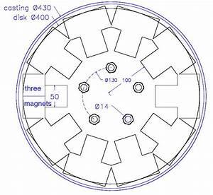 17b Rotor Drawing