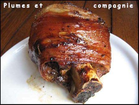 cuisiner jarret de porc jarret de porc caramélisé au four cuisine
