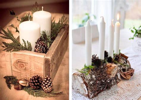 Weihnachtliche Tischdeko Holz by Weihnachtliche Tischdeko 60 Ausgefallene Tischdeko Ideen