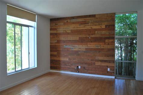 Custom Reclaimed Wood Accent Wall