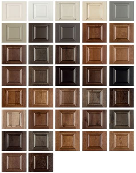 cabinet stain colors burrows cabinets introduces new stain and paint colors