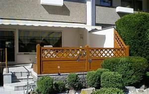 Sichtschutz Für Balkongeländer : pvc sichtschutz als terrassengel nder ~ Markanthonyermac.com Haus und Dekorationen