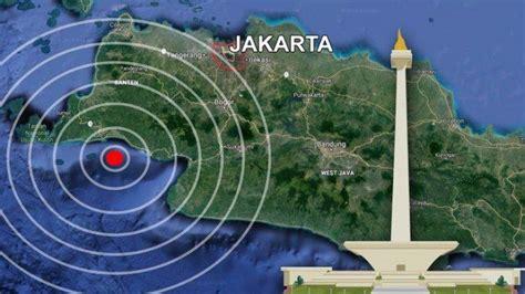 potensi gempa bumi  sr guncang banten jakarta simak